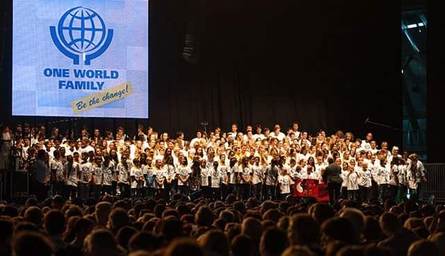 ONE WORLD FAMILY Veranstaltung