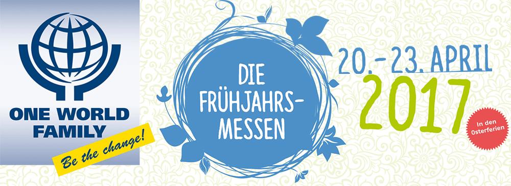 Der One World Family Day auf den Frühjahrsmessen Stuttgart