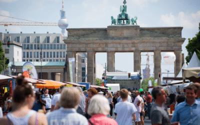 Umwelt Festival am Brandenburger Tor