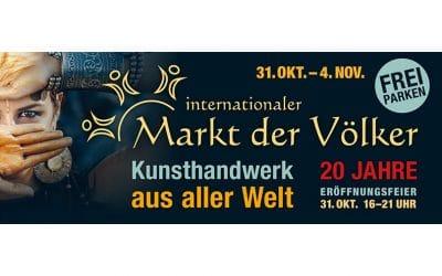 20 Jahre Markt der Völker – Stuttgart – 31. Oktober – 04. November 2018