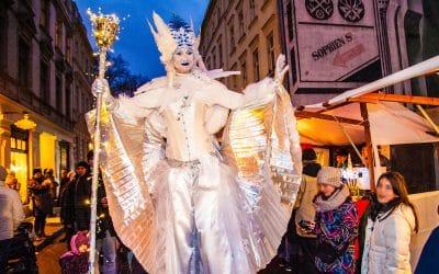 Der 23. Umwelt- und Weihnachtsmarkt 2018 in der Sophienstraße