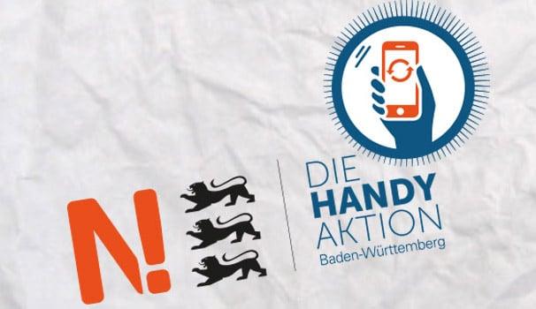 Die Handy-Aktion – Fragen. Durchblicken. Nachhaltig handeln. Noch bis Mai 2019