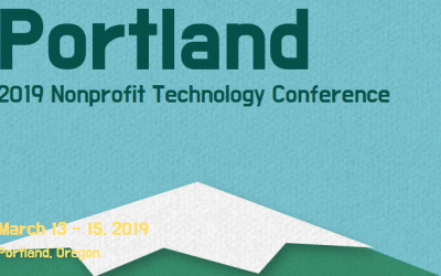 2019 – March 13-15 – Nonprofit Technology Conference