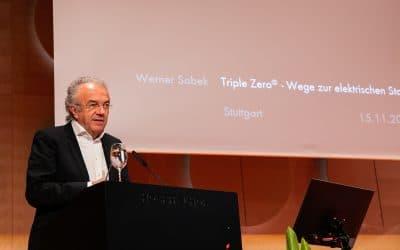 Professor Dr. Werner Sobek – nachhaltig gebaute Umwelt schaffen