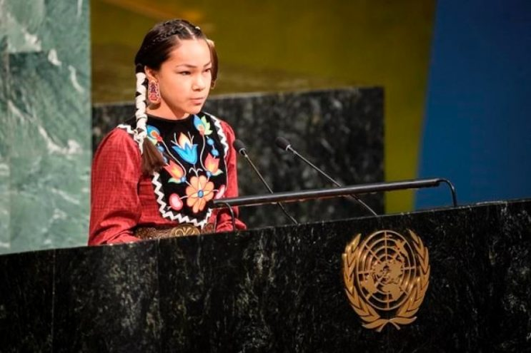 Indigenous water activist to speak at UN as part of youth-led climate movement